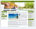 Thumbnail Weight Loss WP HTML Blogger Blog 01 (MRR)