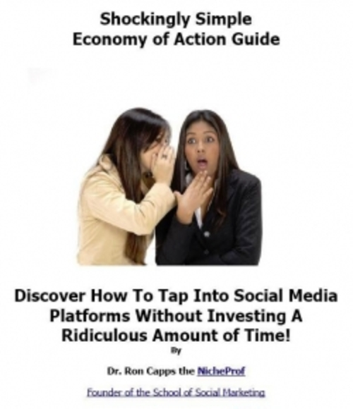 Product picture Shockingly Simple Economy of Action Guide