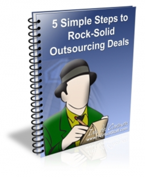 Product picture 5 Simple Steps To Rock-Solid Outsourcing Deals
