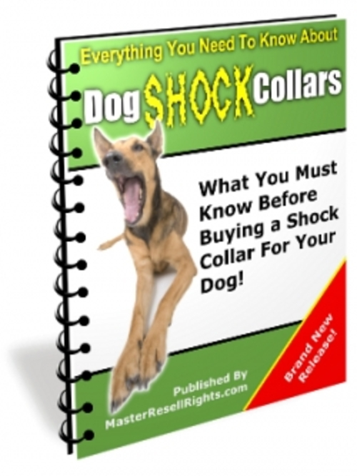 Product picture Dog Shock Collars